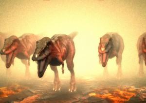 webgl恐竜