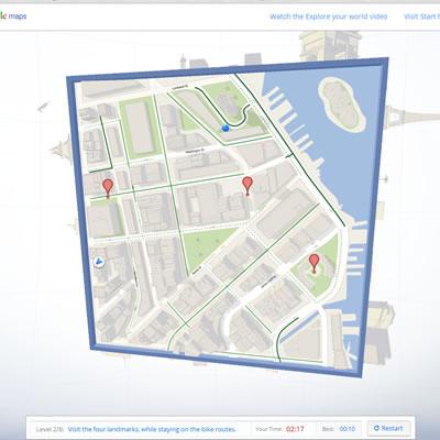 googlemap CUBE